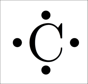 Carbon Electron Dot Diagram