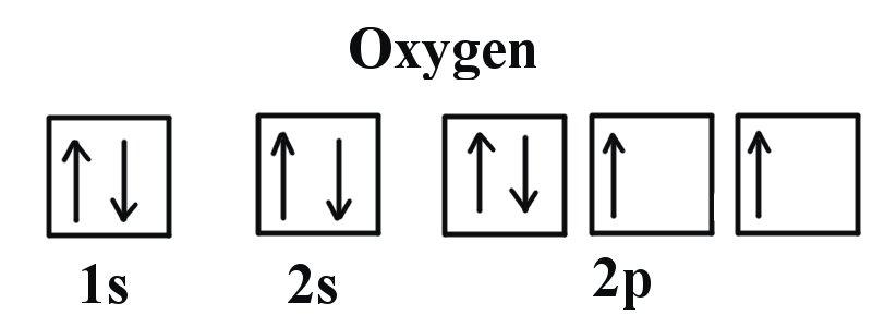 Oxygen Valence Electron Configuration
